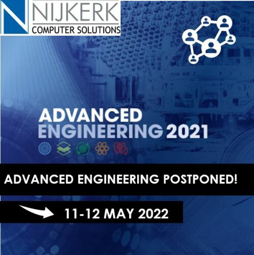 Advanced Engineering postponed to 2022 because of Corona virus measures